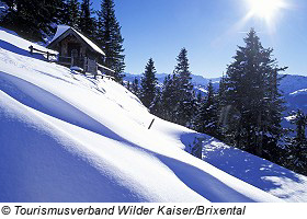 Winterlandschaft am Wilden Kaiser - Going