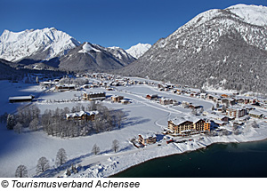 Winter in Pertisau am Achensee